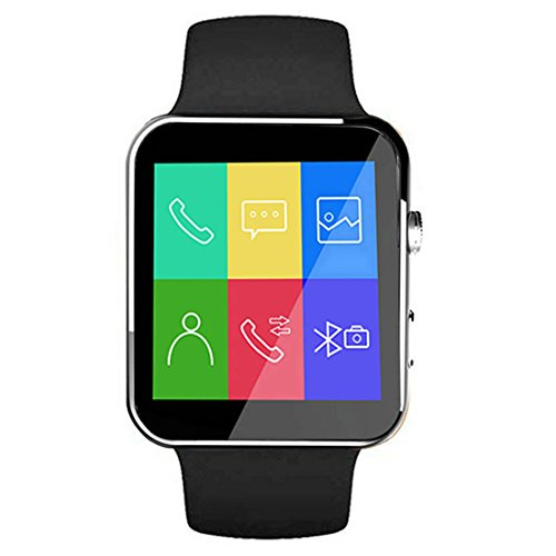 PTron Rhythm Curved Bluetooth Smart Watch with...