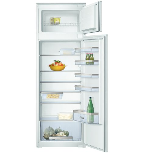 Bosch KID28A21IE Built-in 258L A+ White fridge-freezer - Fridge-Freezers (258 L, SN-ST, 2 kg/24h, A+, White)