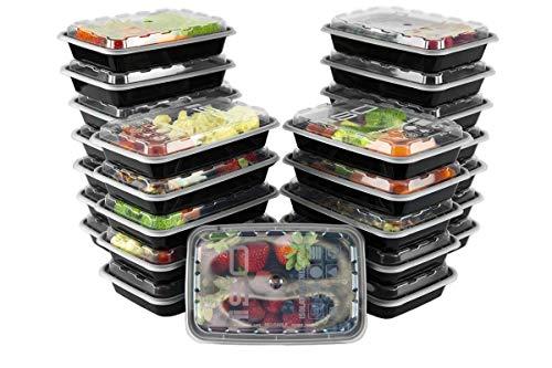 Isolator Fitness Isobag - 350 ml Mahlzeiten Behälter - 25 Stück