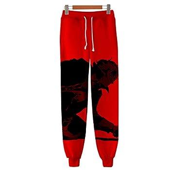 Anime 3D Printed Akira Ryuji Anne Cosplay Gym Joggers Casual Pants Trousers Drawstring Sports Sweatpants 09 XXXL
