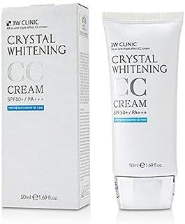 3W Clinic クリスタルホワイトニングCcクリームSPF 50 Pa +++ No.1キラキラベージュ [並行輸入品]