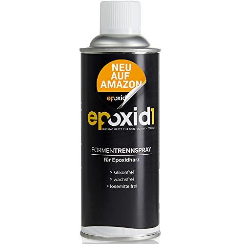 epoxid1® Epoxidharz Trennmittel Spray | Trennspray für Epoxidharz & andere Kunstharze | Made in Germany | ideale Trenn-und Gleitwirkung | Epoxidharz Zubehör