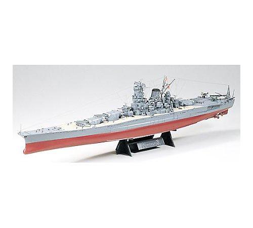 タミヤ 1/350 艦船 No.16 1/350 日本海軍 戦艦 武蔵 78016