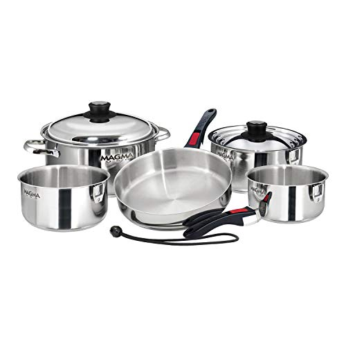 Magma A10-360L-IND Cookware - 10 PC Set, Nesting