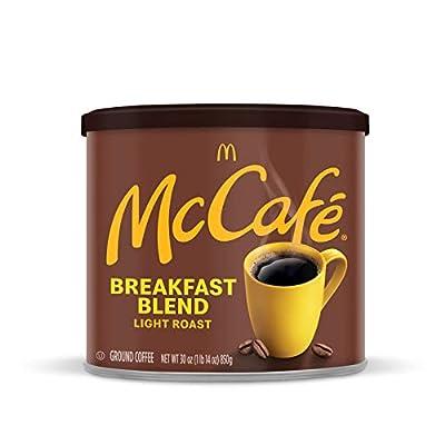 McCafe Breakfast Blend Light Roast Ground Coffee (30 Ounce Canister)