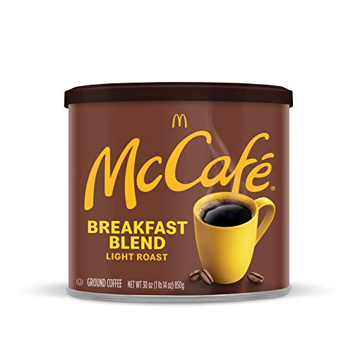 McCafé Breakfast Blend Light Roast Ground Coffee 30 oz Canister
