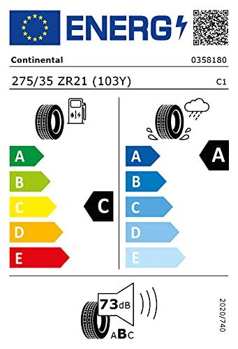 275/35ZR21 CONTI TL SC-5P ND0 (UE)103Y *E*.