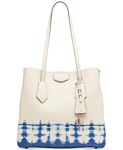 DKNY Sullivan Leather Tie-Dyed North-South Tote
