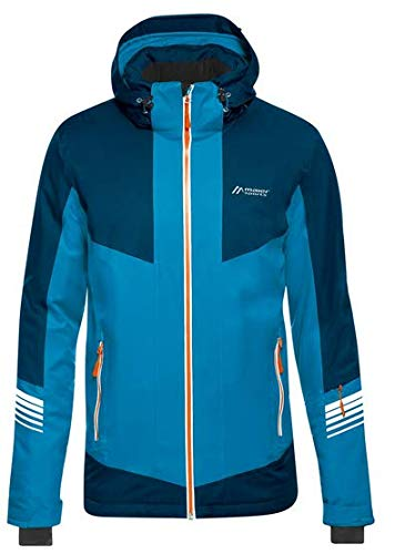 Maier Sports Herren Ahornbuehl Skijacke, Methyl Blue, 56