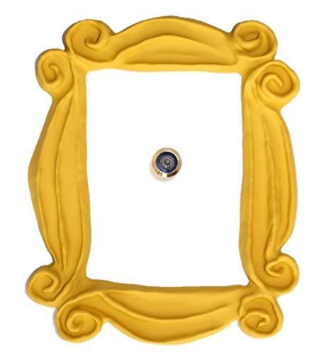 Marco de la mirilla para la puerta. Replica artesanal para tu entrada, como la que tenian en la serie Monica y Rachel.