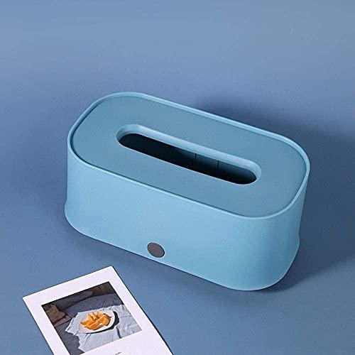 TAIDENG Caja de pañuelos de almacenamiento minimalista sala de estar mesa de café caja de pañuelos creativo escritorio caja de almacenamiento de papel bombeo decoraciones para el hogar adornos