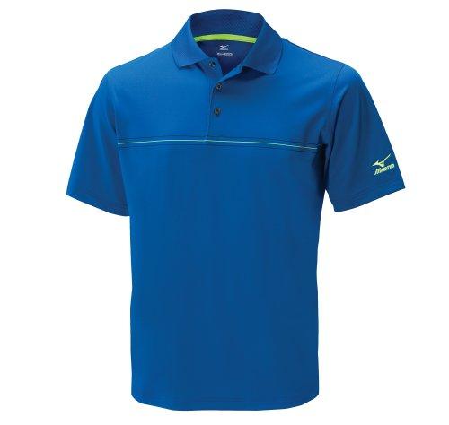 Mizuno - Golf-T-Shirts für Herren in königsblau, Größe S