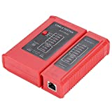 Alupre WZ-468 RJ45 y la Herramienta de Prueba de Red por Cable de Red RJ11 LAN Ethernet Tester