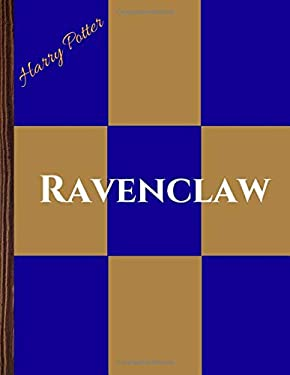 Harry Potter - House Ravenclaw Colors (Blank Lined Journal / Notebook)