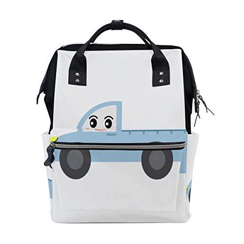 Pickup Auto Lkw Cartoon Mode Große Kapazität Windel Taschen Mummy Rucksack Multi Funktionen Wickeltasche Tasche Handtasche Für Kinder Babypflege Reise Täglichen Frauen