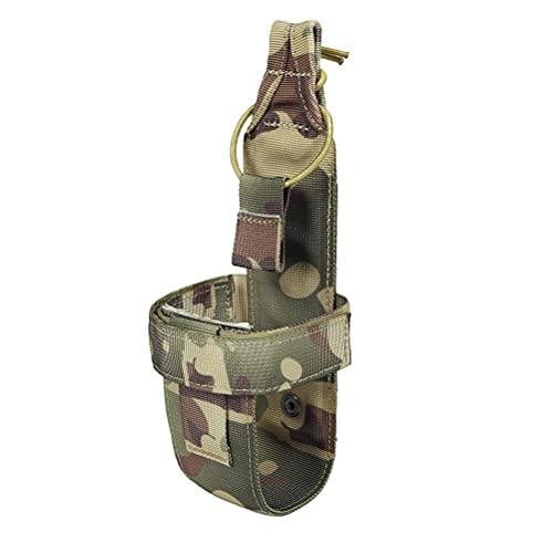 ABOOFAN Portabotellas Molle Simple Soporte para Botella de Agua Ligero para Exteriores Cinturón para hervidor de Agua para Juego CS Deporte al Aire Libre Camping (Estilo CP)