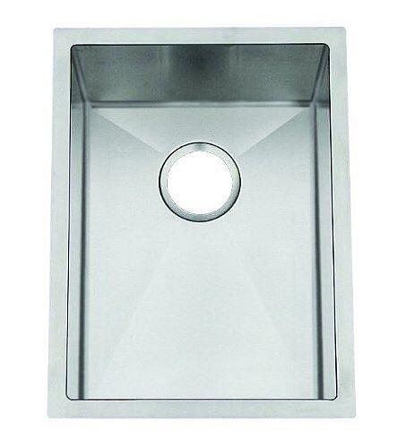 Frigidaire FGUR1919-D9 Gallery 18-Gauge 304 Stainless Steel 19-Inch X 19-Inch Single Bowl Undermount Kitchen Sink
