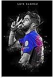 BOYLUCK Poster Und Gedruckte Luis Suarez Sports Soccer
