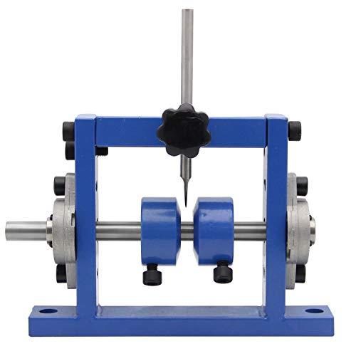 Mxmoonant Abisoliermaschine für φ1-25mm Kabel, Abisolierwerkzeug, Bohrer anschließbar, mit 1 Ersatzklinge für das Recycling von Kupferschrott (1 Messer)