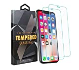 iPhone 6/7/8 Premium Tempered Glass Screen Protector [2-Pack]- Crystal Clear