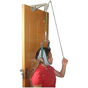 Vinmax Over door Cervical Traction Set for Neck Shoulder Pain Brace Relief Head Home:Btc4you