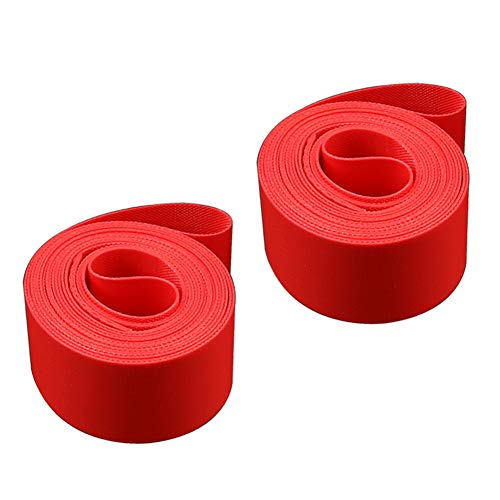 N \ A 2PCS Bike Rim Tape, Bicycle Protector Anti Puncture Tire Liner Inner Tube Pad, Fits 700C 20' 22' 24' 26' 27.5' 29', for Road Mountain Bike Wheel