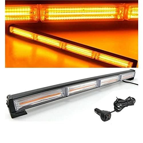 Barra de luz estroboscópica 72 W 59 cm 10 modo flash 12 V emergencia Offroad Auto