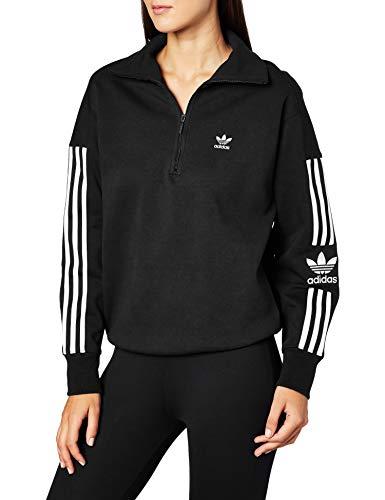 adidas Lock UP Sweat Sweatshirt, Negro, 36 para Mujer
