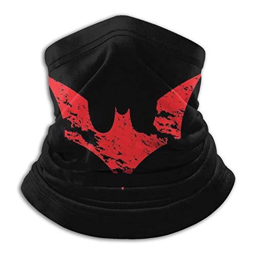 Red Batman - Pasamontañas unisex multifuncionales a prueba de polvo, para deportes al aire libre, 25,4 x 27,6 cm