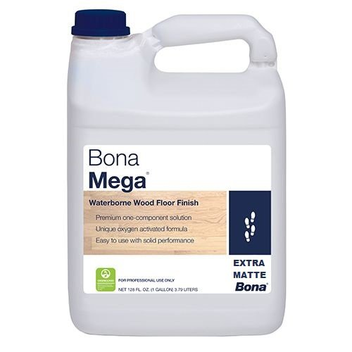 Bona Mega Wood Floor Finish Extra Matte 1 Gallon