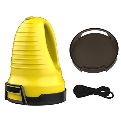 Suszian Grattoir à Glace pour Voiture, grattoir à Glace électrique, Chargement USB, Hiver, Pare-Brise de Voiture, dégivreur de Neige pour Pare-Brise de Voiture,Jaune,Facile à Utiliser,Gagner du Temps