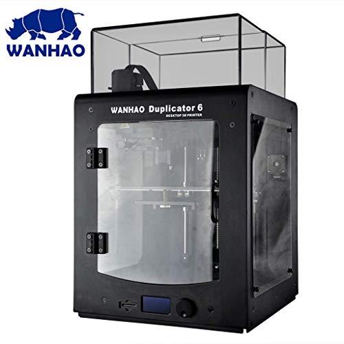 Wanhao Duplicator D6 Plus - Stampante 3D con finestrini laterali e calotta in acrilico