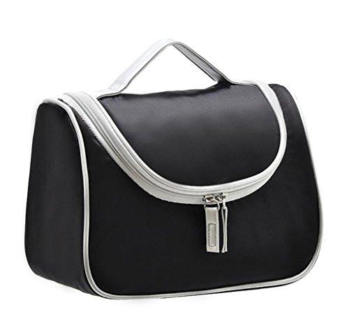 Magictodoor Make Up Bag Cosmetic Organizer Bag Train Case for Women Black