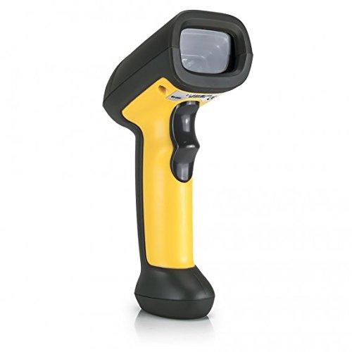 Vultech bc-03W Lecteur Pistolet Barcode, Scanner Laser, sans Fil, Noir