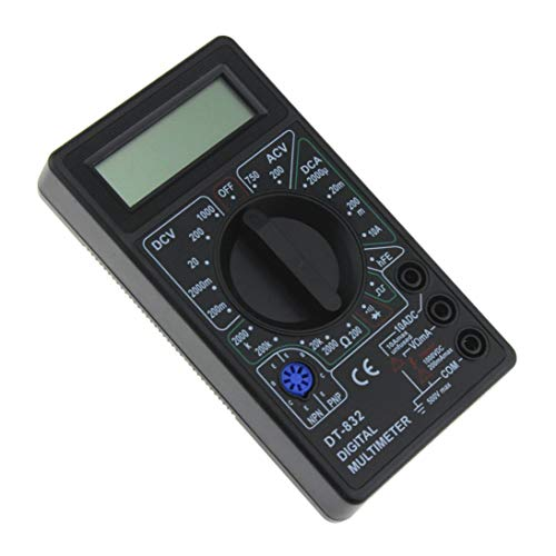 DT-832 Mini-Taschen-Digital-Multimeter 1999 Zählt AC/DC Volt-Verstärker Ohm-Diode HFE Durchgangsprüfer Amperemeter Voltmeter Ohmmeter