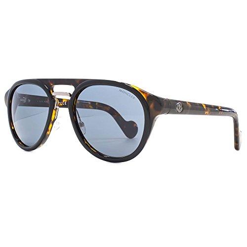 Moncler ML0020 05V 54 Gafas de sol, Negro (Nero), Unisex Adulto