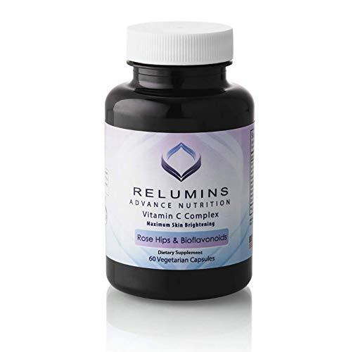 Relumins Advance Nutrition Complejo Vitamina C MAX para la piel con escaramujos y bioflavinoides
