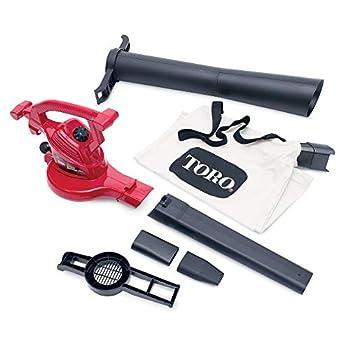 Toro 51619 Ultra Electric Blower Vac 250 mph Red