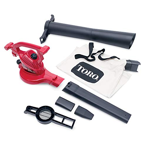 Product Image of the Toro 51619 Ultra Electric Blower Vac, 250 mph, Red