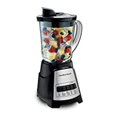 700 watts: Peak blending power for powerful ice crushing. Wave action system: 700 watt power blender continuously pulls mixture down into the blades for consistently smooth results. 12 blending functions: Multi-function blender with only 5 simple but...