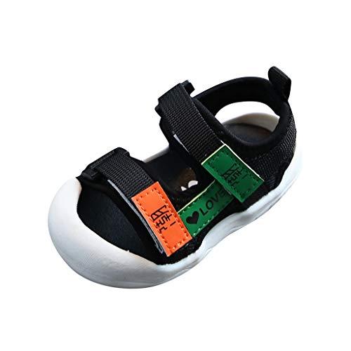 YWLINK Sandalias Deportivas para NiñOs Zapatillas De Playa De Verano Antideslizantes con Punta Abierta Zapatos Ligeros para NiñOs PequeñOs Zapatos De Primer Paso Bautismo Regalo De CumpleañOs