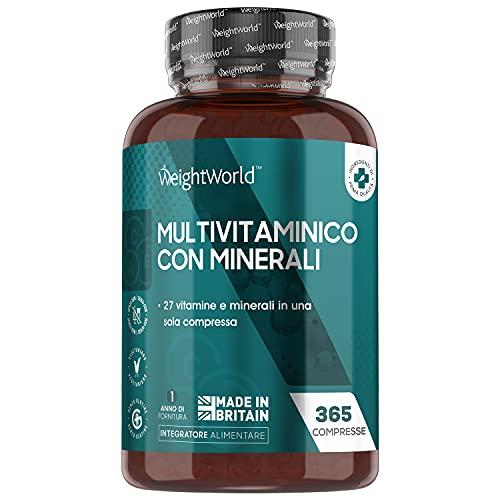Integratore Multivitaminico - 365 Compresse...