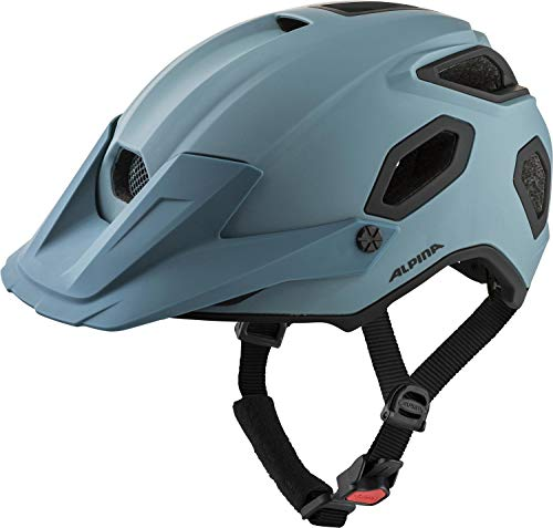 Alpina Unisex– Erwachsene COMOX Fahrradhelm, dirtblue matt, 57-62 cm