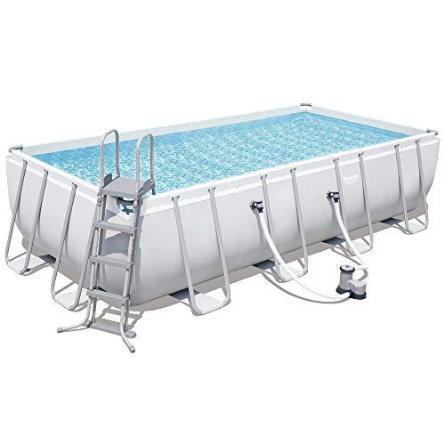 Bestway Pool Power Steel(TM) Stahlrahmen-Pool-Set 549 x 274 x 122 cm + Zubehör