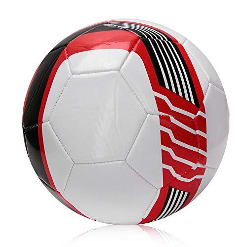 VGEBY1 voetbal, maat 5 trainingsvoetbal PU-machinenaad-match-voetbal explosiebestendige wikkelfolie