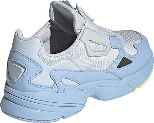 adidas Mujer Falcon Zip W Zapatillas Azul, 38
