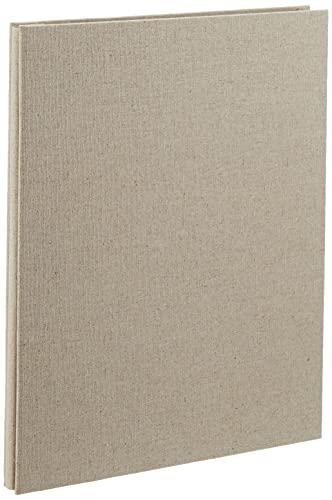 無印良品 綿麻増やせる アルミコート フリー台紙アルバム A4タイプ・10枚(20ページ)・生成 18726875