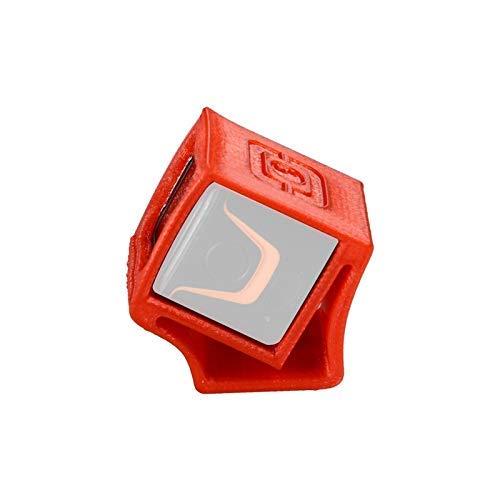GzxLaY Hochwertige TPU 3D-Druckkamerahalterung 3D-Gedruckter Halter Sitzschutz Schutzhülle für Foxeer Box FPV Racer Kamera DIY RC Drohne Quadcopter Teile Zubehör (Farbe: Rot) (Color : Red)