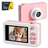 NEKAN Appareil Photo Enfants 8MP 1080P HD Caméra Photo/Vidéo Rechargeable Appareil...