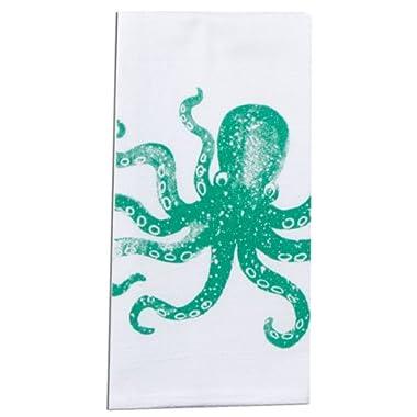 Kay Dee Designs A8503 Octopus Coastal Krinkle Flour Sack Towel